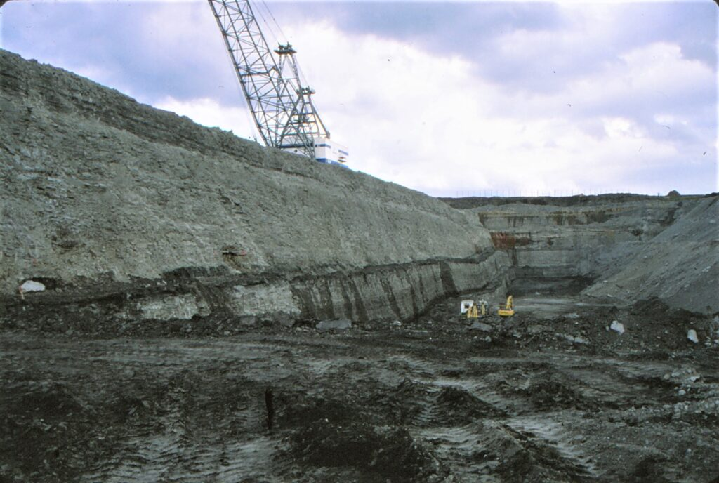 Fig 47 St Aidan's Opencast coal mine. Astley. Leeds. Closed in 2002 and is now a nature reserve.